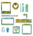 Sizzix - Thinlits - Frames