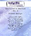 IndigoBlu - Rubber Stamp - Collectors Edition 2 - French Script