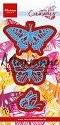 PRE-ORDER 3 - Marianne Design - Creatables - Tiny`s butterflies set