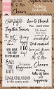 PRE-ORDER 3 - Marianne Design - Clearstamp - Wedding sentiments (UK)