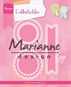 PRE-ORDER 3 - Marianne Design - Collectables - Rosettes & labels