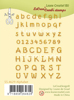 Leane Creatief - Clear Stamp Alphabet and numbers