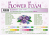 Leane Creatief - Flower foam sheets a4 Dark Violet