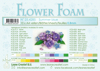 Leane Creatief - Flower foam sheets a4 summer blue