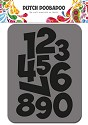 Dutch Doobadoo - Dutch Foam Stamps - Numbers
