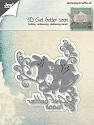 Joy! Crafts - Cutting Stencil - Aster Duchess