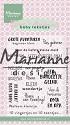 Marianne Design - Clearstamp Eline - Eline`s Babytekstjes