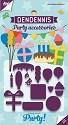 Joy! Crafts - Stansmal DenDennis Party - Feestaccessoires