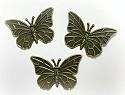 Metal Art - Dichte vlinders (3st)