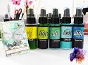 Lindys Stamp Gang - Starburst Spray - Set Drop Dead Diva