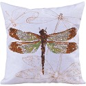Diamond Dotz - 44 x 44cm - Pillow Dragonfly Earth - DD16.001