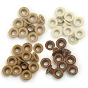 We R Memory Keepers - Eyelets Standard - Brown