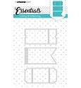 Studio Light - Embossing Die Cut Stencil - Essentials nr.100