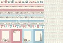 Scrappapier PION Design - Seaside Stories - Borders