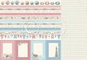 Scrappapier PION Design - Seaside Stories - Borders