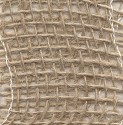 Juteband - 5 cm breed - naturel gestijfd