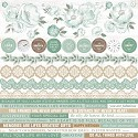 Kaisercraft - Memory Lane - Cardstock Stickers