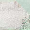 Scrappapier Kaisercraft - Memory Lane - Mint Blush