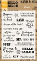 Marianne Design - Clearstamp - Beach sentiments