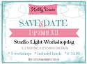 Studio Light Workshopdag - Zaterdag 8 september 2018