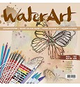 WaterArt Aquarelpapier - 12 sheets / 30,5 x 30,5 cm / 185 grs