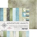 Craft-O-Clock - Paper Collection Set 15,2 x 15,2 cm - Adventure Awaits