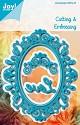 Noor! Design - Blauwe mal - Ovaal Sophia