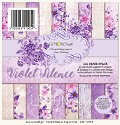 Lemoncraft - Paper Collection Set 15,2 x 15,2 cm - Violet Silence
