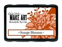 Ranger MAKE ART - Blendable Dye Ink Pad -  Orange Blossom