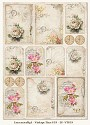 Lemoncraft -  Vintage Time A4 sheets - House of Roses II