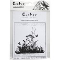 Crafty Individuals - Unmounted Rubber Stamp - Ornamental Grasses
