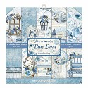 Paperpad Stamperia - 30,5 x 30,5 cm - Blue Land