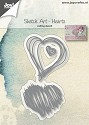 Joy! Crafts - Cutting Stencil - Sketch Art Harten