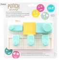 We R Memory Keepers - Planner Punch Board W/Standard Hole Punches 6/Pkg