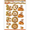 3D Push Out - Yvonne Creations - Fabulous Fall - Fabulous Foxes