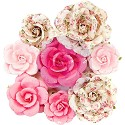 Prima Marketing - Misty Rose - Paper Flowers Olivia