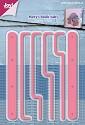 Mery`s - Cutting stencil - Tabbladen boekje