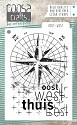 COOSA Crafts - Clearstamps A7 - Oost-West NL