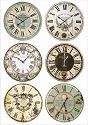 Stamperia - Rice Paper A4 - Clocks