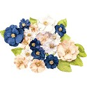 Prima Marketing - Georgia Bues - Mulberry Paper Flowers 28/Pkg