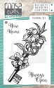 COOSA Crafts - Clearstamps A7 - Blooming Key