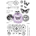 Finnabair - Art Daily - Planner stamps - Dream Without Fear