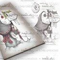 Polkadoodles - Rubber Stamp - North Pole