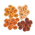 We R Memory Keepers - Wide Eyelets - Orange
