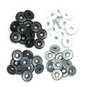 We R Memory Keepers - Wide Eyelets - Grey