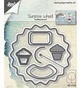Joy Crafts - Snijstencil - Verrassingswiel / Aankondigingswiel