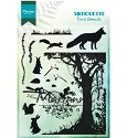 PRE-ORDER 9 - Marianne Design - Silhouette - Forest Animals