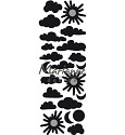 PRE-ORDER 9 - Marianne Design - Craftables - Punch Die Clouds