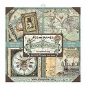 Paperpad Stamperia - 30,5 x 30,5 cm - Voyages Fantastiques MAXI PACK