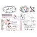 Prima Marketing - Poetic Rose - Chipboard Stickers
